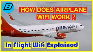 How Does Airplanes Wifi Works